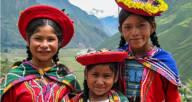 Besøg indianerne i Peru